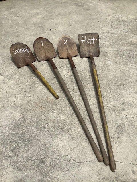Vintage Shovels-information page